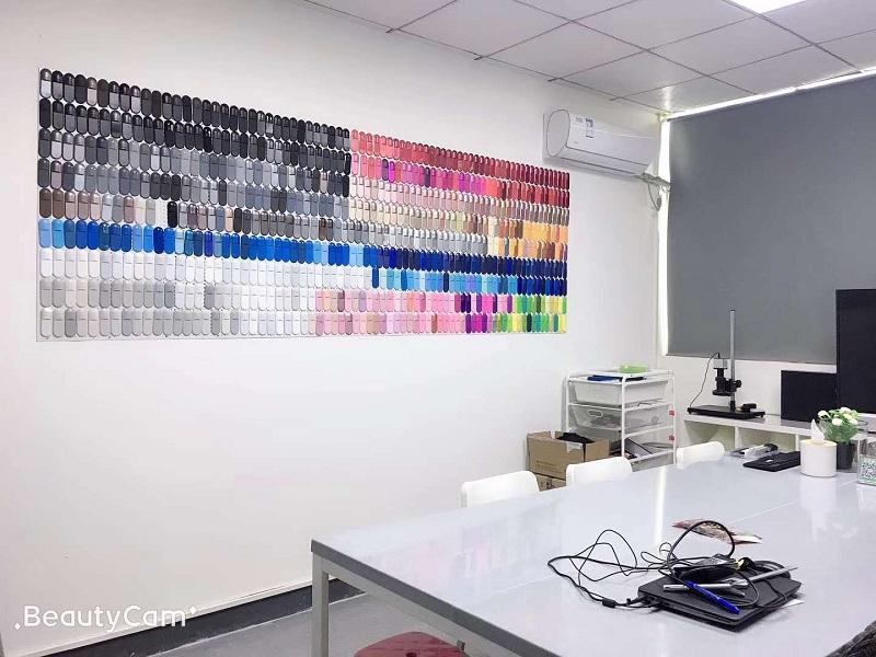 丰富的色板库是外观手板色彩的基本要求