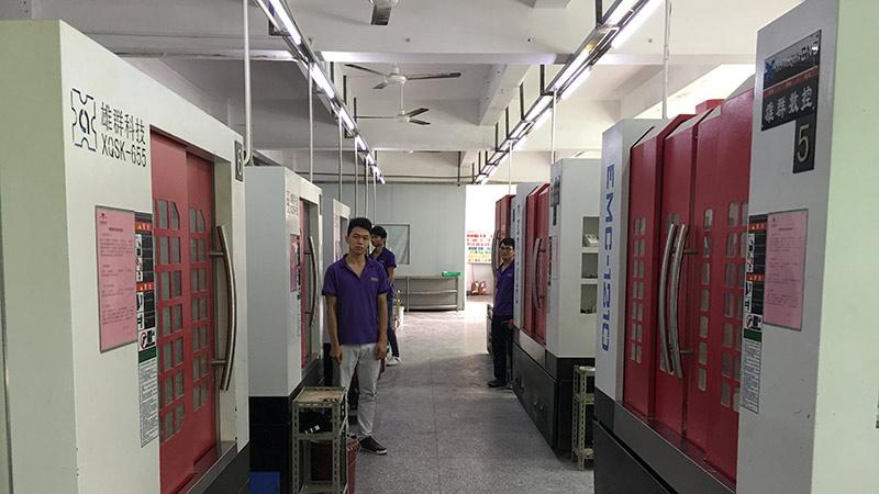 有实力的手板厂必须有完善的生产设备