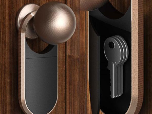 手板案例:智能锁手板模型