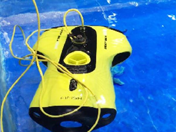 手板案例:水下无人机手板模型