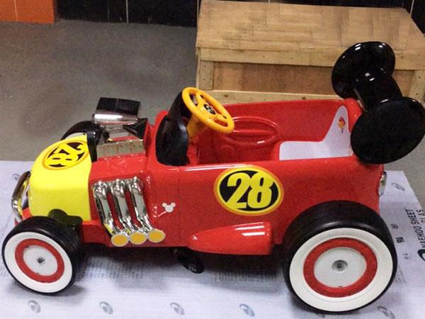 手板案例:米奇童车手板模型