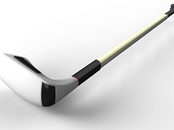 手板案例:高尔夫球杆手板模型