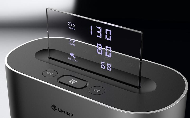 智能血压计手板模型