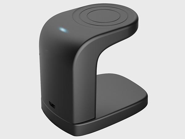 手板案例:无线充电座手板模型