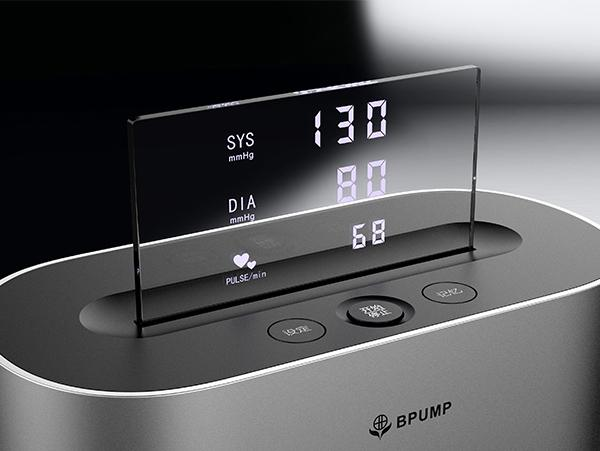 电子血压计手板模型