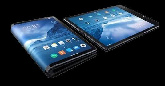 折叠屏幕手机