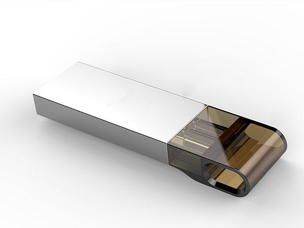手板案例:U盘手板模型