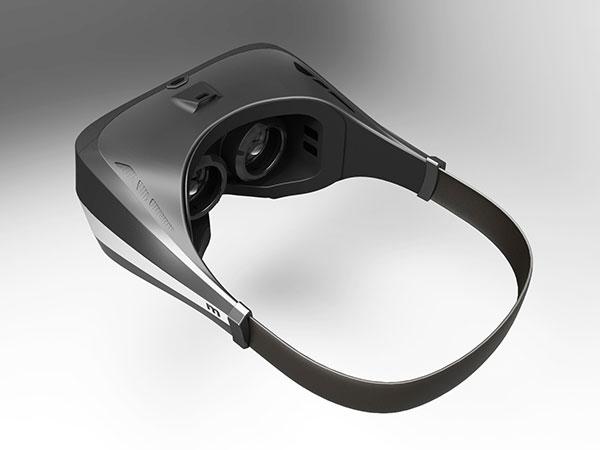 手板案例:VR眼镜手板模型