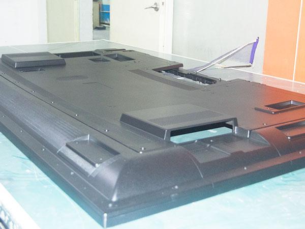 手板案例:75寸电视机后壳手板模型