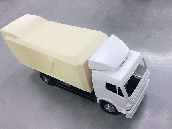 手板案例:货车手板模型