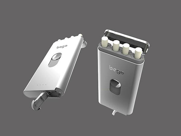 手板案例:电子烟手板模型