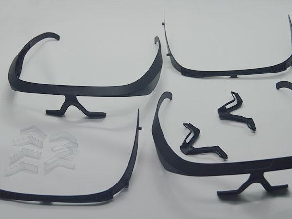手板案例:生物冶疗眼镜手板模型