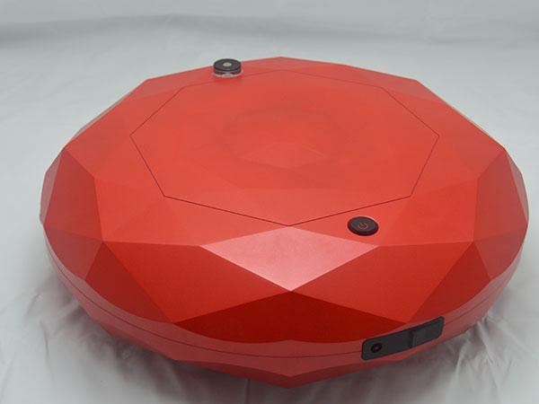 手板案例:扫地机手板模型