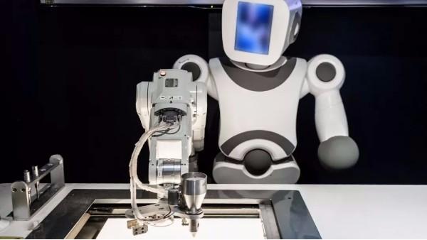 机器人手板模型 客户看厂后满意下单