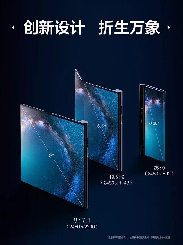 华为Matex折叠屏手机