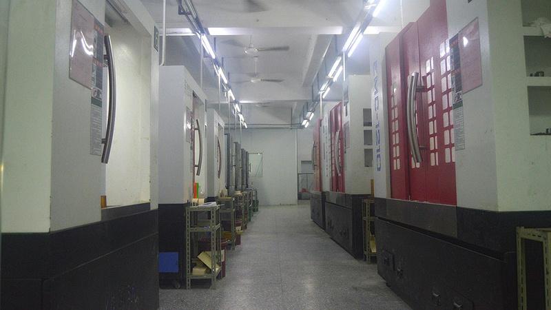 CNC手板生产车间