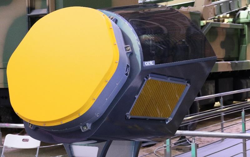 """三面阵""""机载有源相控阵火控雷达模型"""