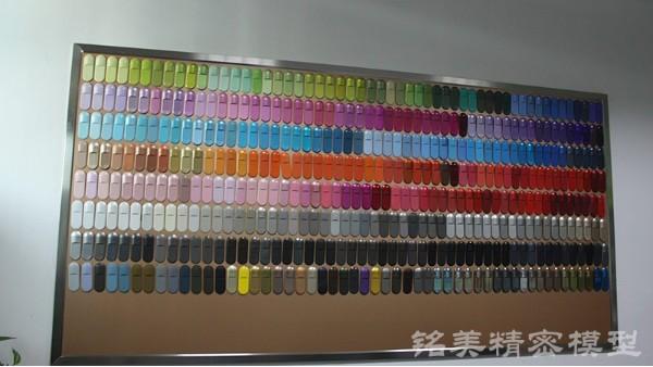 手板表面处理色板库