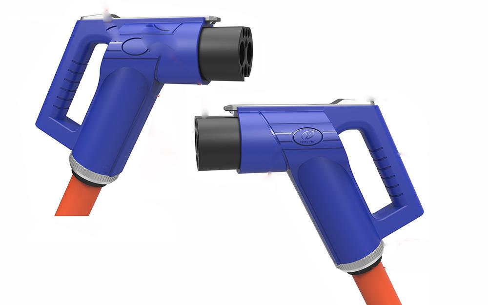 直流充电枪模型-铭美手板模型