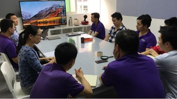 郑州金沙国际会员登录打样,外观精美客户很满意