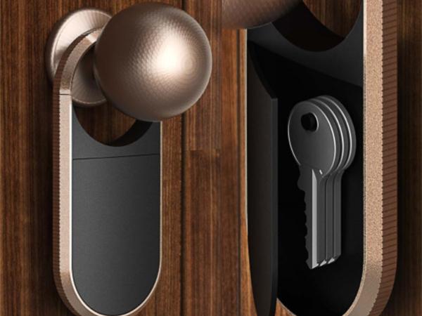 手板案例:智能门锁手板模型
