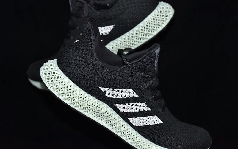 阿迪达斯3D打印运动鞋